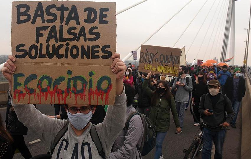 """25A: """"Somos cerca de 4 millones de veganes y/o vegetarianes en Argentina y no se nos escucha"""""""