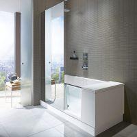 Duravit Shower & Bath Dusch Badewanne Ecke links 170 x 75 ...