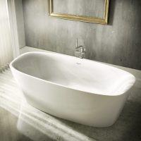 Ideal Standard Dea freistehende Krperform-Badewanne 180 x ...