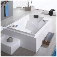 Hoesch Santee Rechteck-Badewanne 190 x 120 cm 6652.010 ...