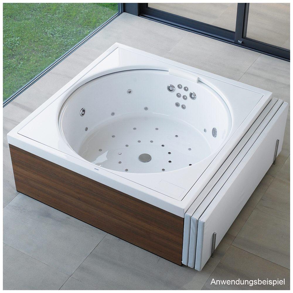 Duravit Blue Moon Whirlpool Quadrat 140 x 140 cm