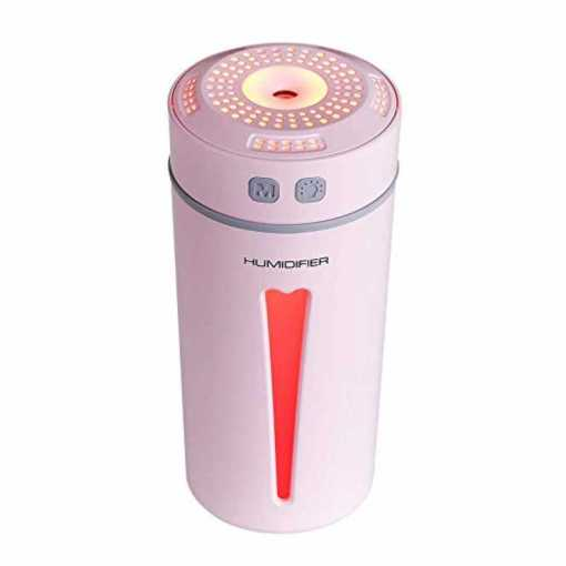 Humidificador Happy color Rosado