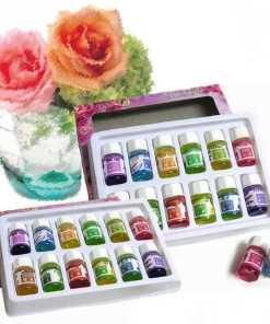 Dos Kit de Aceites Esenciales 12 Botellas de Diferentes Aromas