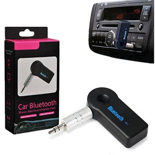 Caja y Receptor Inalámbrico Car Bluetooth Uso en Auto