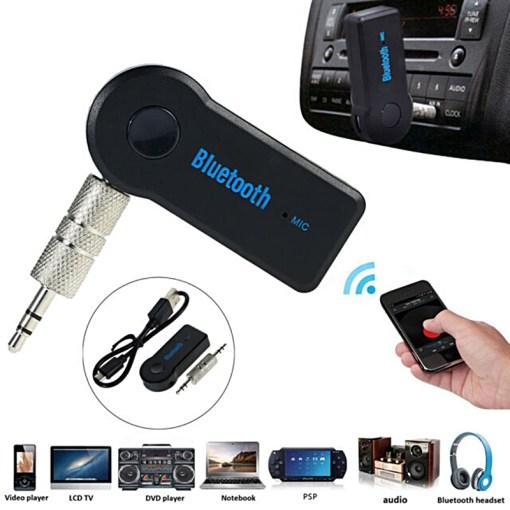 Receptor Inalámbrico Car Bluetooth Uso y Dispositivos