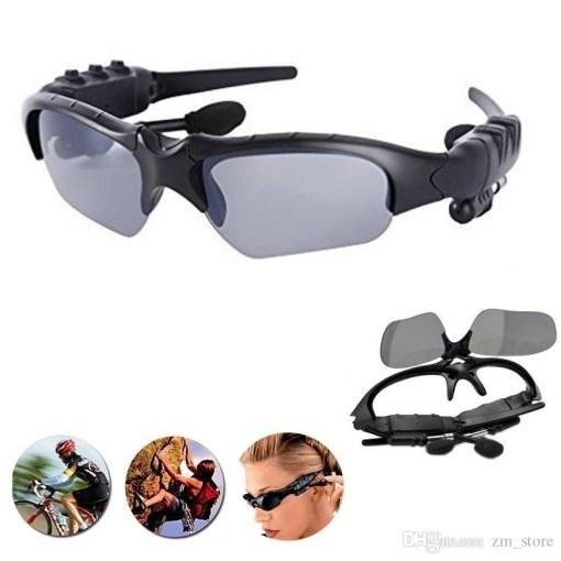 uso de gafas deportivas con bluetooth