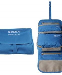 Bolsa organizador romix para viaje color azul mega bahía