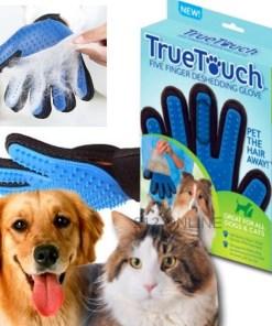 Guante de aseo para mascota true touch perro y mascotamega bahía