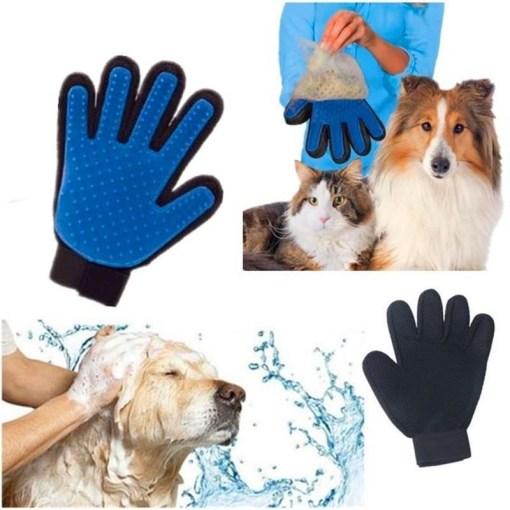 Guante de aseo para mascota true touch uso mega bahía