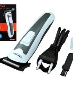 máquina cortadora de cabello profesional nova nhc-665 recargable partes mega bahía