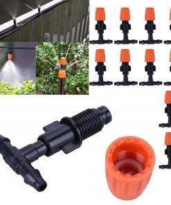 sistema de riego automático con manguera por goteo uso mega bahía