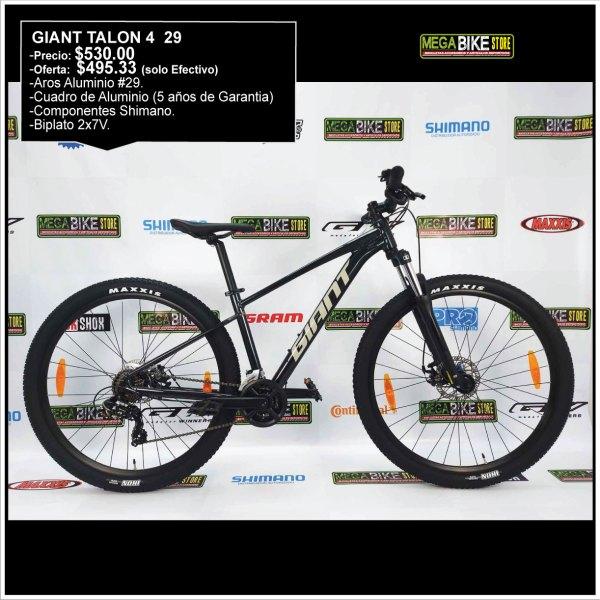 Bicicleta-guayaquil-mtb-montañera-talla-mega-bike-store-bike-shimano-giant-aluminio-talon4-aro29-gris-oscuro