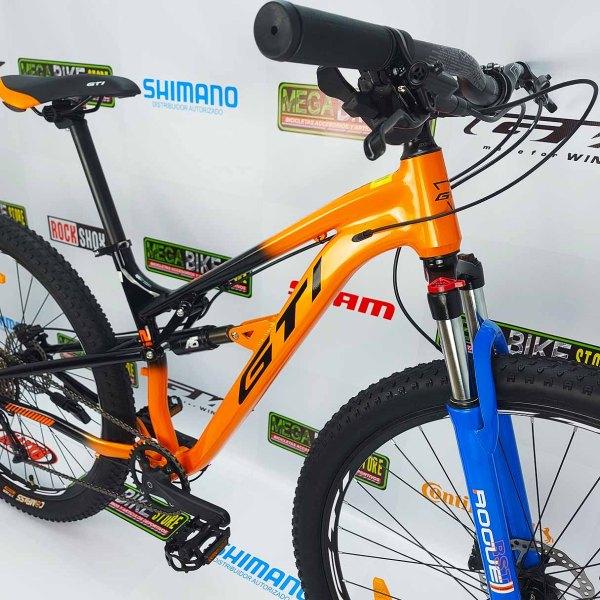 Bicicleta-guayaquil-mtb-montañera-talla-mega-bike-store-bike-shimano-gti-avionic-aro-29-aluminio-negro-naranja.