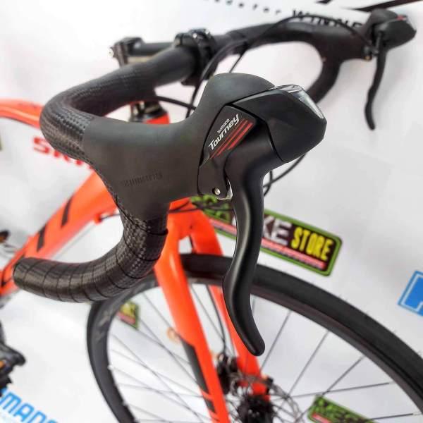 Bicicletas-talla-aro-700-mega-bike-store-bike-ruta-carrera-shimano-triatlón-gti-carrera-aro-700-aluminio-naranja
