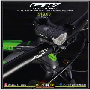 Bicicleta-guayaquil-mtb-montañera-talla-mega-bike-store-bike-shimano-gw-luz-frontal-delantera-recargable.