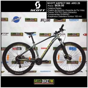 Bicicleta-guayaquil-mtb-montañera-talla-mega-bike-store-bike-shimano-scott-aspect-aro-29-aluminio-960-dorado-gris.