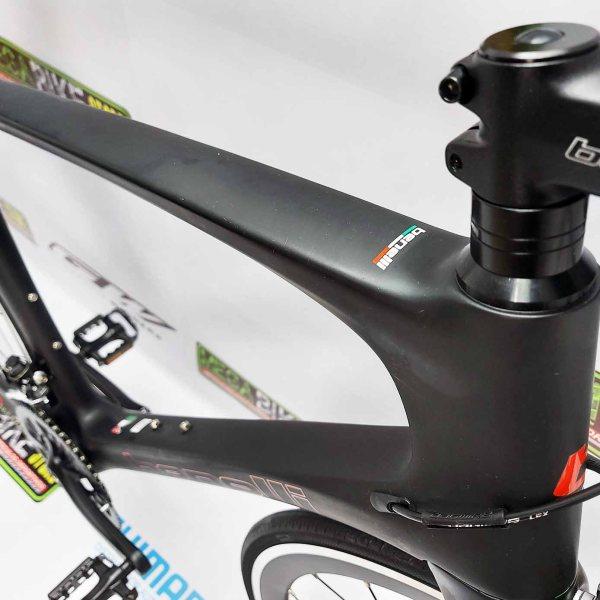 Bicicletas-talla-aro-700-mega-bike-store-bike-ruta-carrera-shimano-triatlón-benelli-r19-3.0-pro-carbono-negro-rojo.