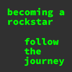 becoming a rockstar podcast logo