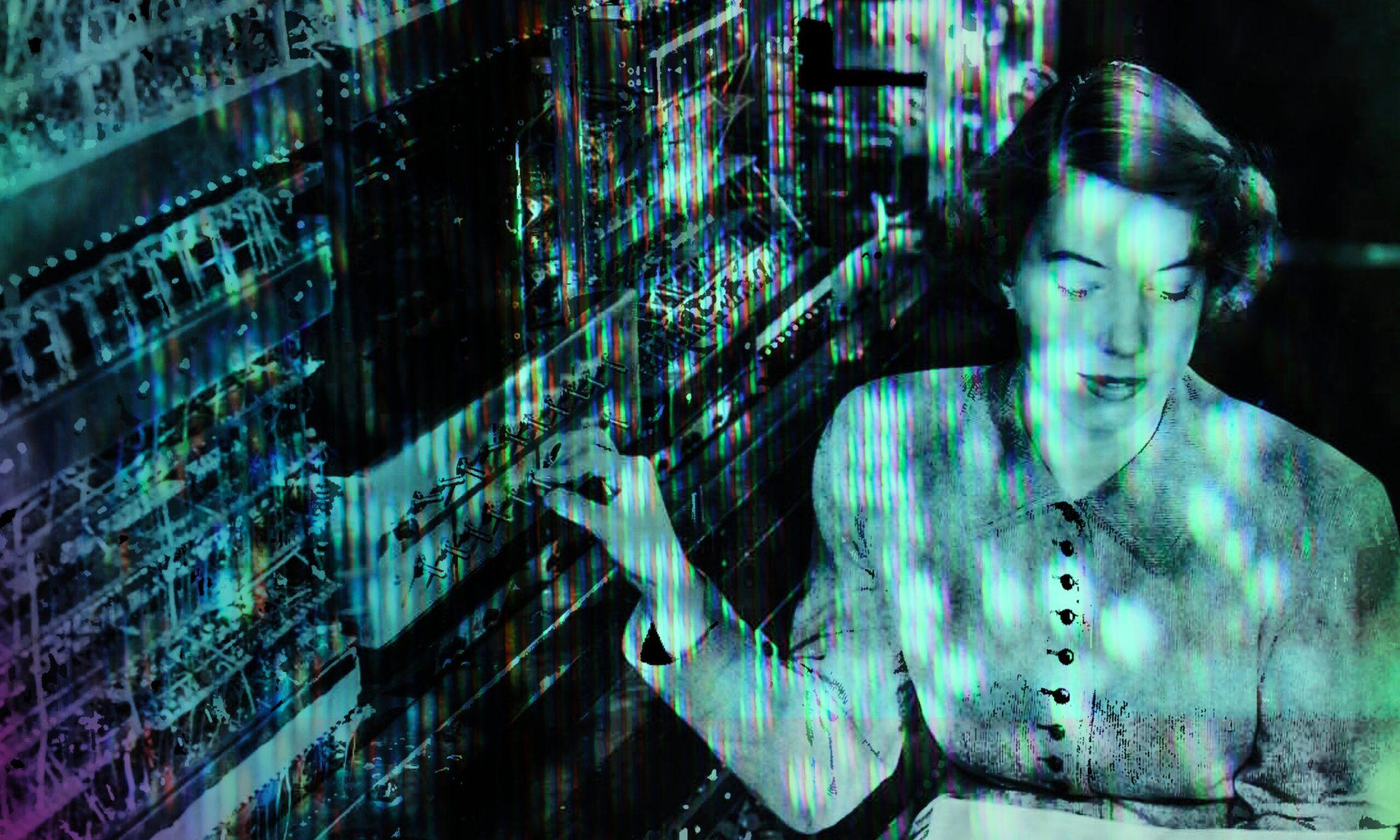 Industrial music artist megabyteGhost's industrial music album Dead_Mans_Switch cover art.