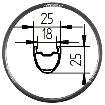 650B+ 27.5 inch Tubeless Clincher MTB rim