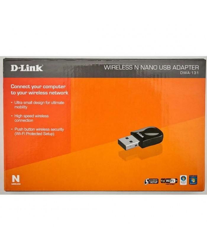 D-link N Nano Wireless Usb Adapter 300 Mbps - Dwa-131 : d-link, wireless, adapter, dwa-131, DLINK, DONGLE