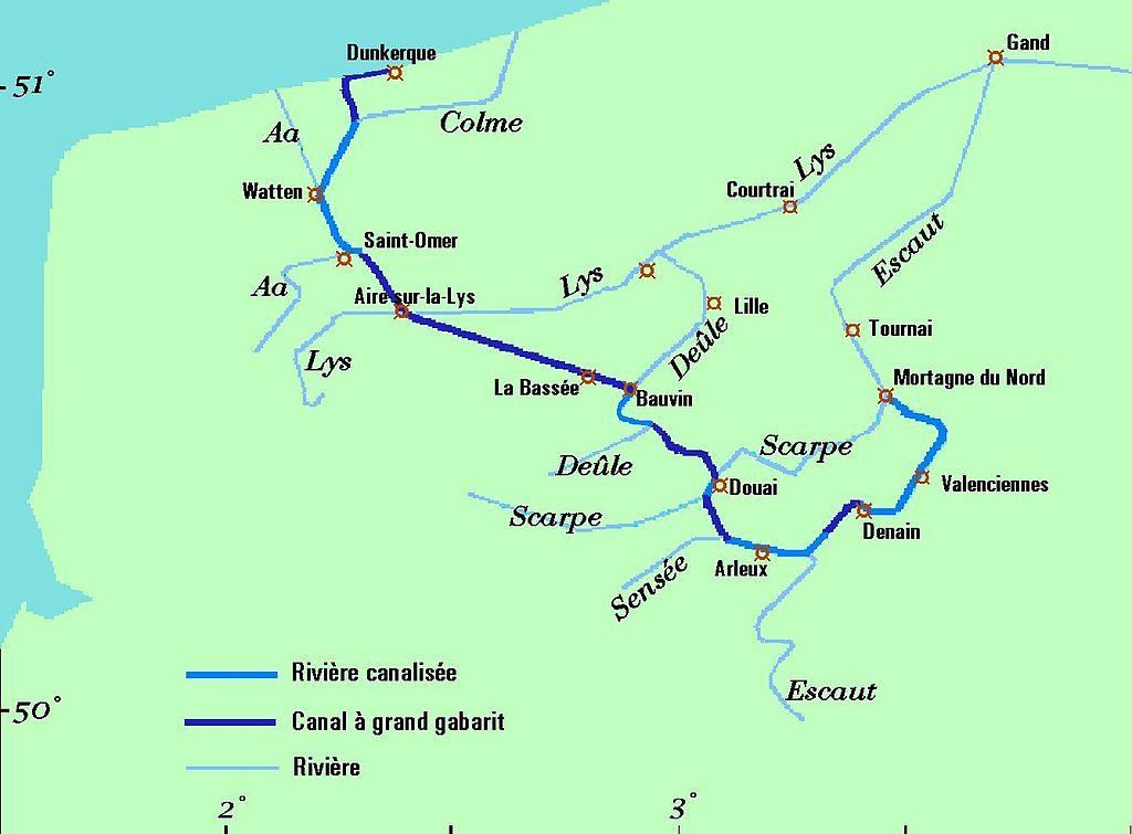 Canal Dunkerque Escalda Megaconstrucciones Extreme