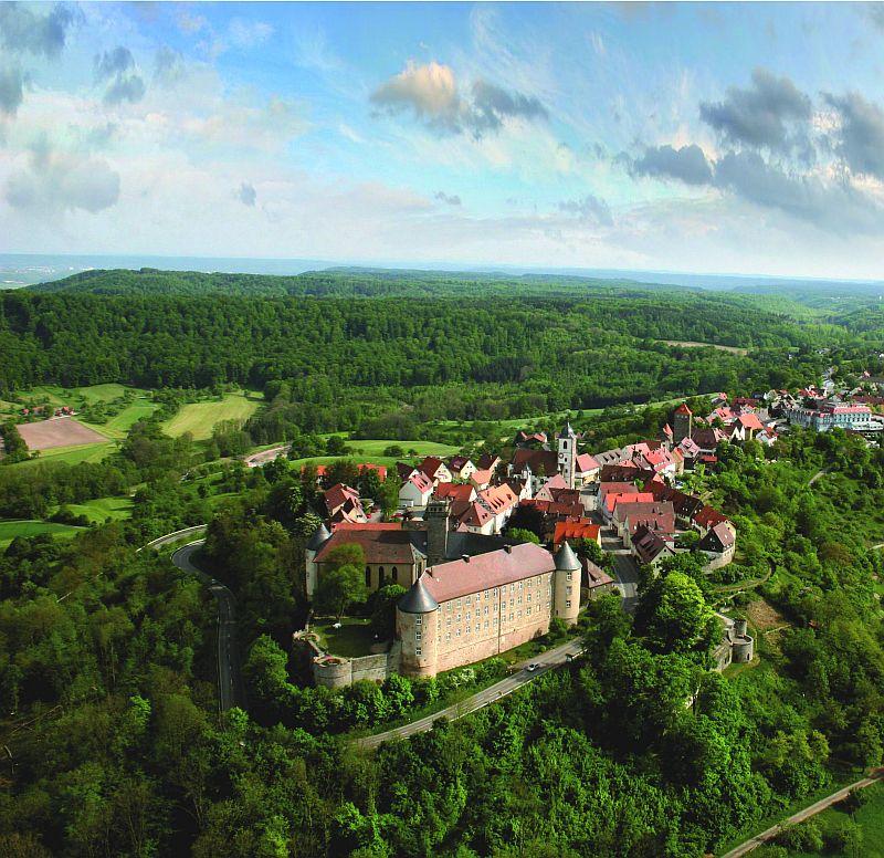Castillo De Waldenburg Hohenlohe Megaconstrucciones