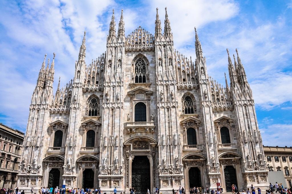 Resultado de imagen para Catedral de Milán