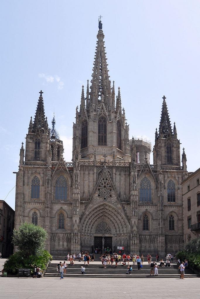 Catedral De Barcelona Catedral De La Santa Cruz Y Santa