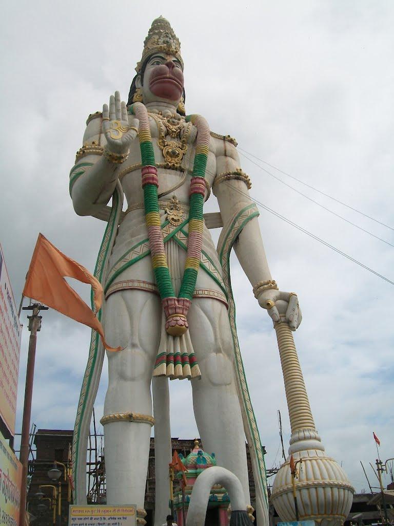 Estatua De Hanuman En Nandura Megaconstrucciones