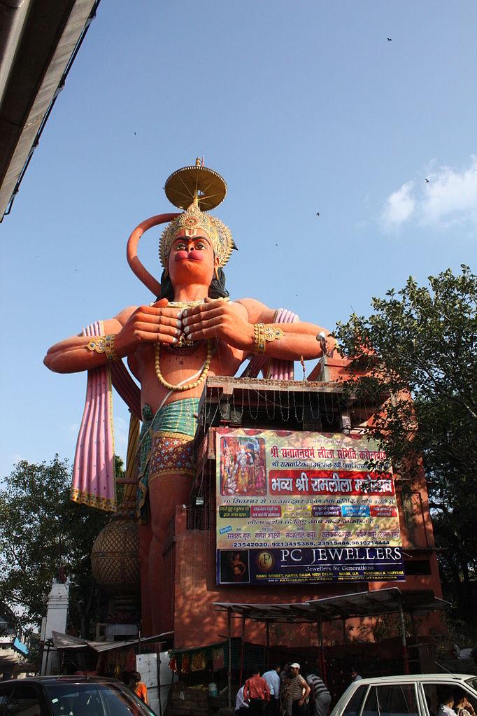 Estatua De Hanuman En Nueva Delhi Megaconstrucciones