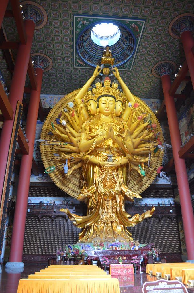 Qianshou Guanyin Del Templo Donglin Megaconstrucciones