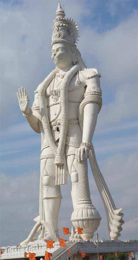 Veera Abhaya Anjaneya Hanuman Swami Megaconstrucciones