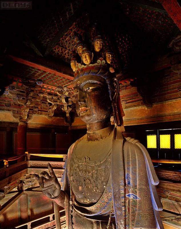 Guanyin En El Templo De Dule Megaconstrucciones Extreme