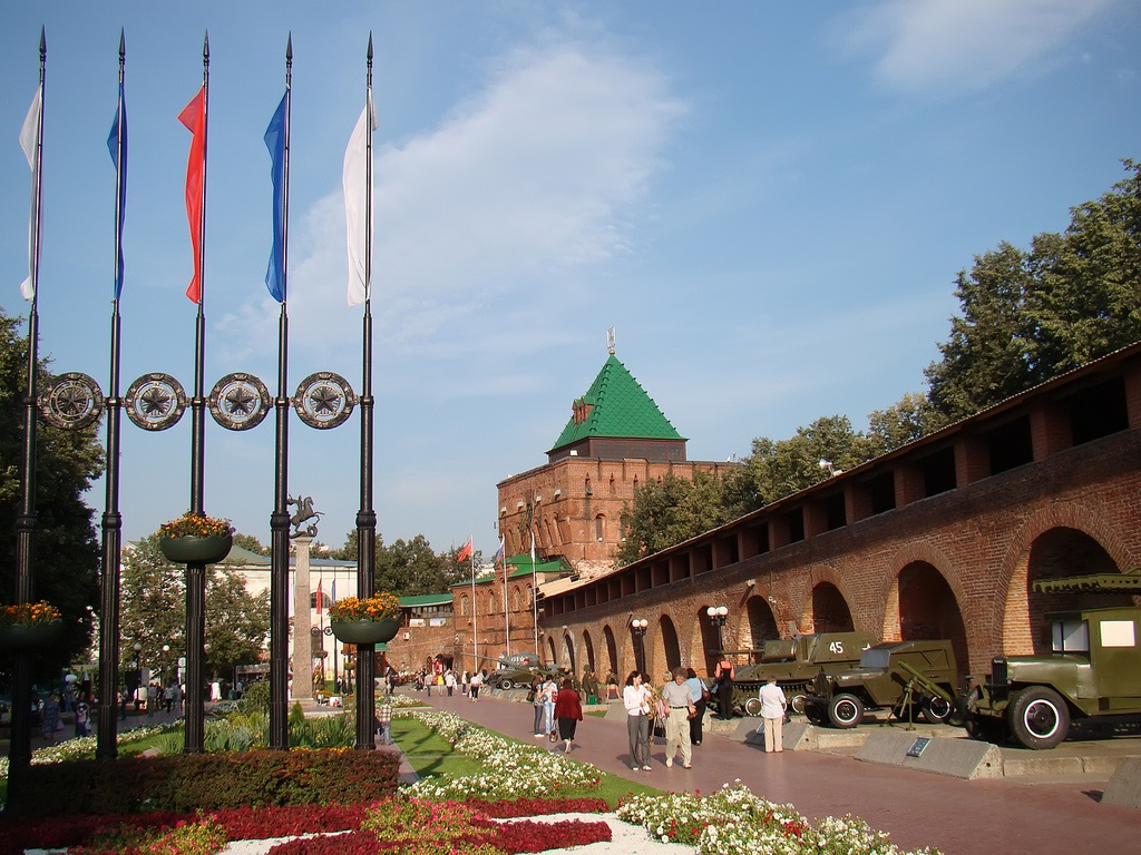Kremlin De Nizhny Novgorod Megaconstrucciones Extreme