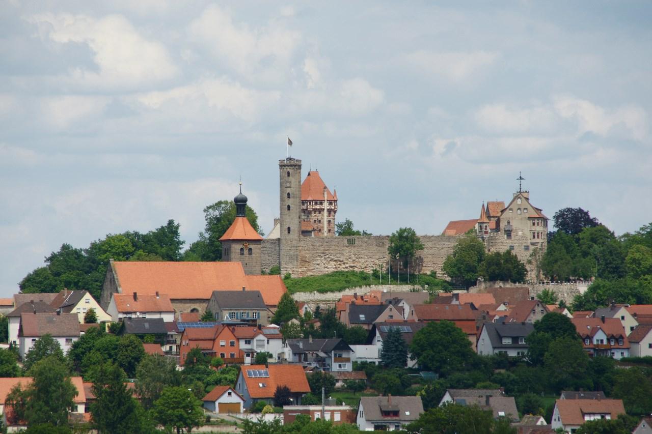 Castillo De Abenberg Burg Abenberg Megaconstrucciones