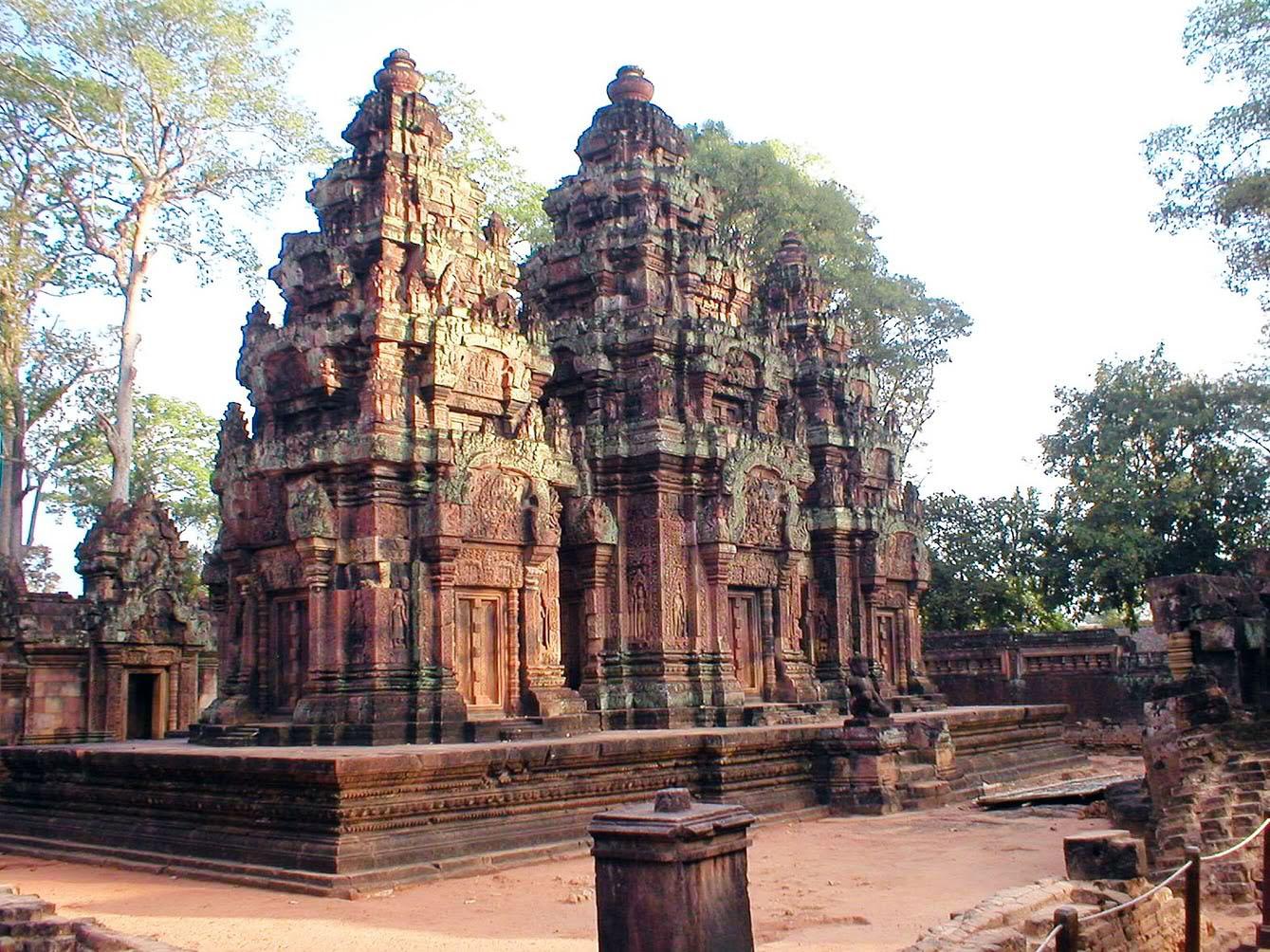 Banteay Srei Megaconstrucciones Extreme Engineering