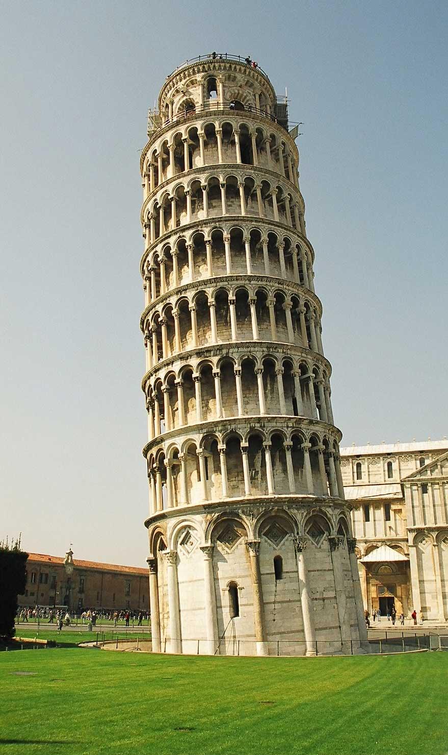 Torre De Pisa Megaconstrucciones Extreme Engineering