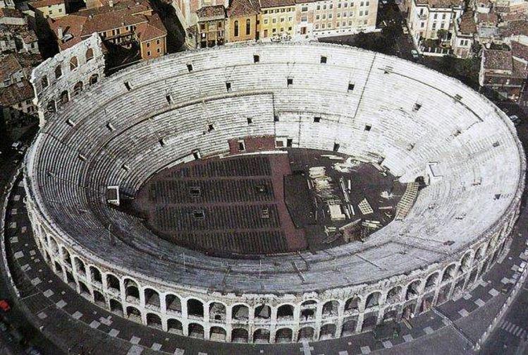 Arena De Verona Anfiteatro De Verona Arena Di Verona