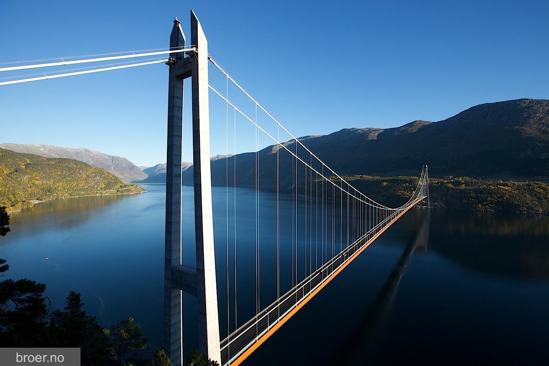 Puente Hardanger Hardangerbrua Megaconstrucciones