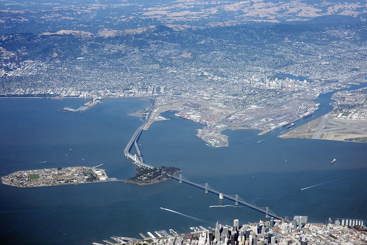Puente De La Bah 237 A De San Francisco Oakland Puente De La