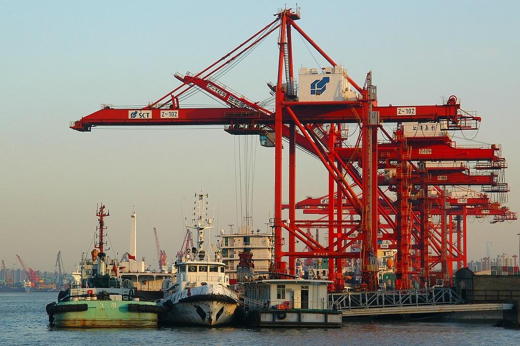 Puerto De Shangh 225 I Yangshan Deep Water Port Wusongkuo