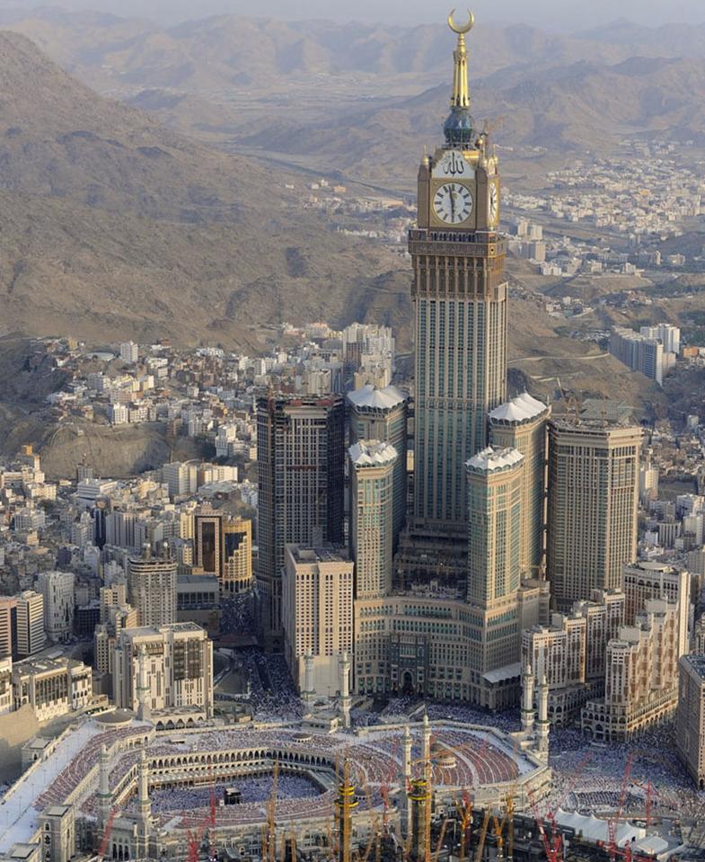 Abraj Al Bait Megaconstrucciones Extreme Engineering