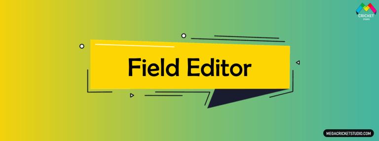 Field Editor for EA Sports Cricket 07