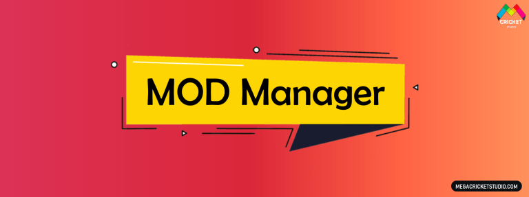 Mod Manager for EA Sports Cricket 07