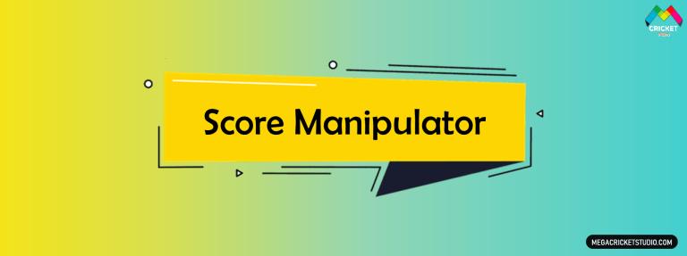 Score Manipulator for EA Sports Cricket 07