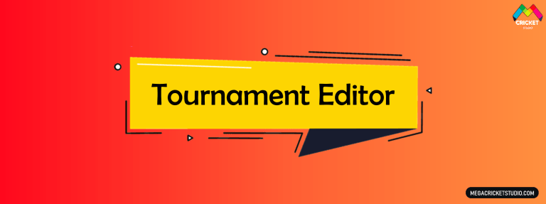 Tournament Editor for EA Sports Cricket 07