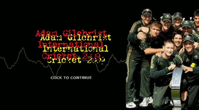 Adam Gilchrist International Cricket 2009 Patch for EA Cricket 07