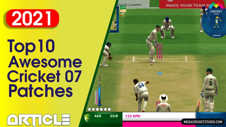 New 10 Awesome Cricket 07 Patches Free Download (2021 Updated List) | EA Sports Cricket 07