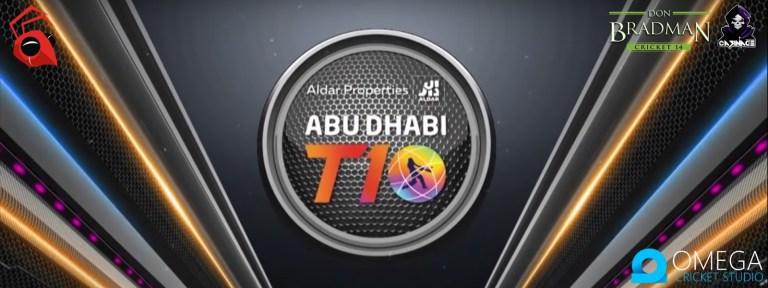 Abu Dhabi T10 League 2019 Patch for Don Bradman Cricket 14